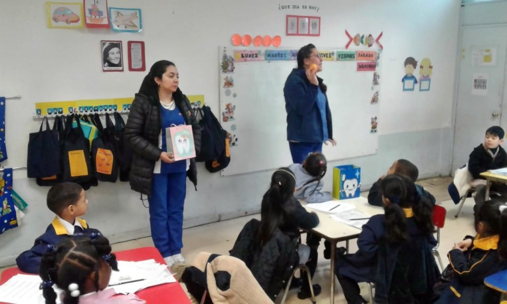 Charla de Salud dental Pre Kinder.