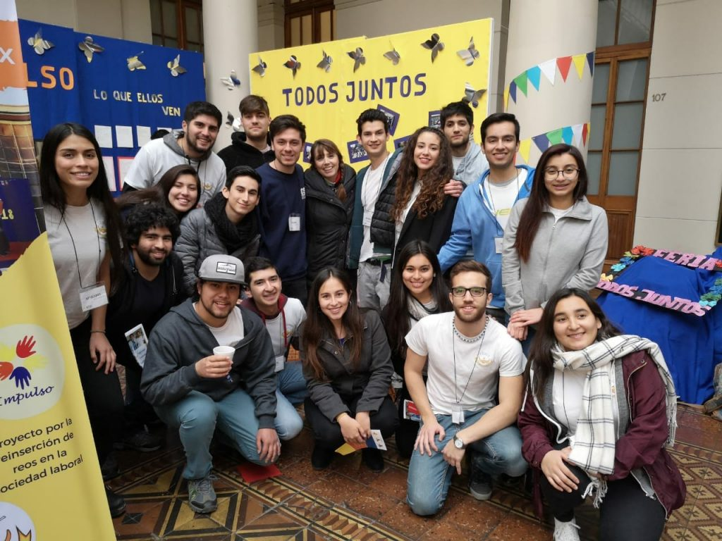 Expo-social Universidad de Chile 2018.