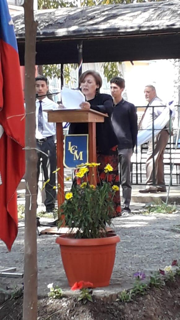 Conmemoración del 11 de Septiembre junto a los gabrielinos detenidos desaparecidos durante la dictadura militar.