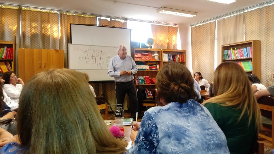 Taller de Innovaciones pedagógicas a docentes gabrielinos.