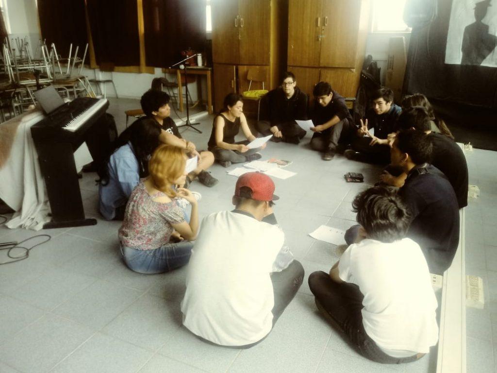 Cancionero Dramático organizado por estudiantes de la UCH.