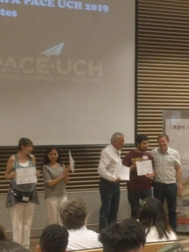 Tania Muñoz recibe un premio ARPA. 2019.