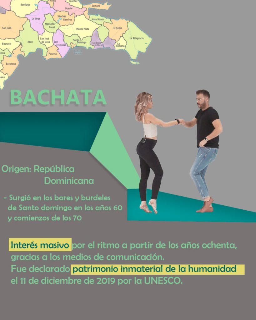 Únete a la clases de bachata Online.