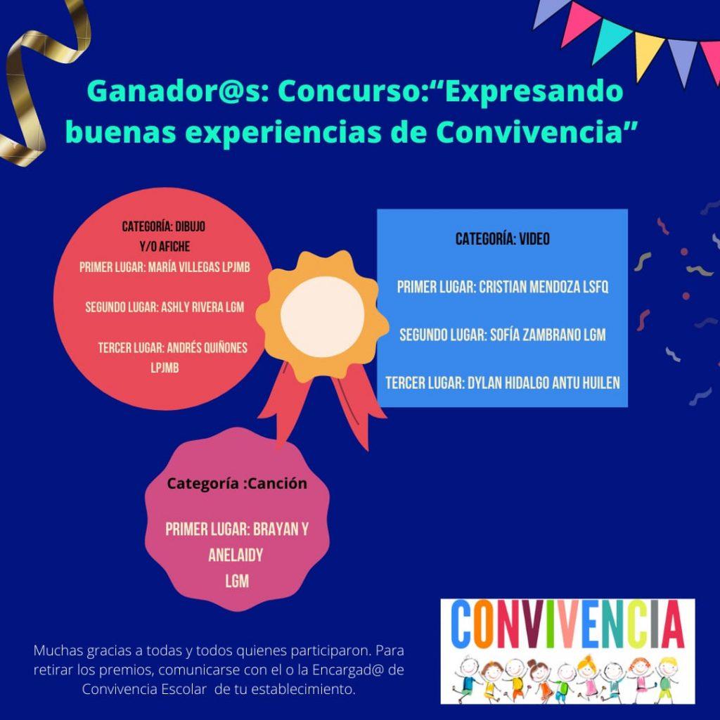 Estudiantes Gabrielinos sobresalen en Concurso Comunal de Convivencia Escolar